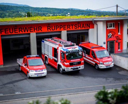 Wache der Feuerwehr Ruppertshain